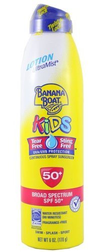 Banana Boat Kids Tear-free UltraMist Lotion Continuous Spray