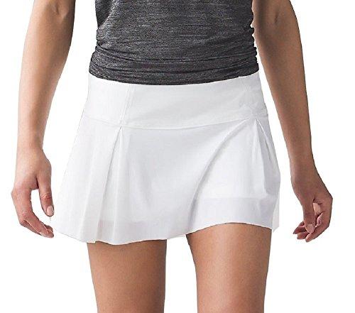 Lululemon Lost In Pace Skirt (12, - Shorts White Lululemon