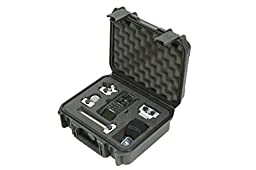 SKB 3I-1209-4-H6B Injection Molded Case for Zoom H6 Recorder with Shotgun Microphone Slot