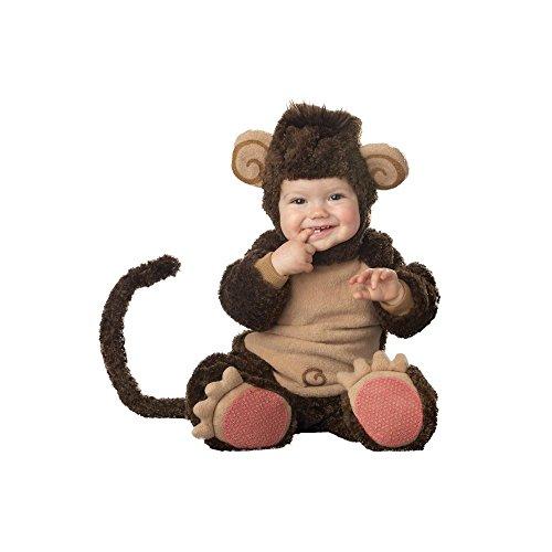 Incharacter Infant Monkey Costume (Lil' Monkey Baby Infant Costume - Infant Medium)