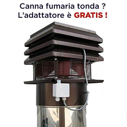 IT/ES Aspirador de Humos para Chimenea Modelo Profesional: Amazon.es: Hogar
