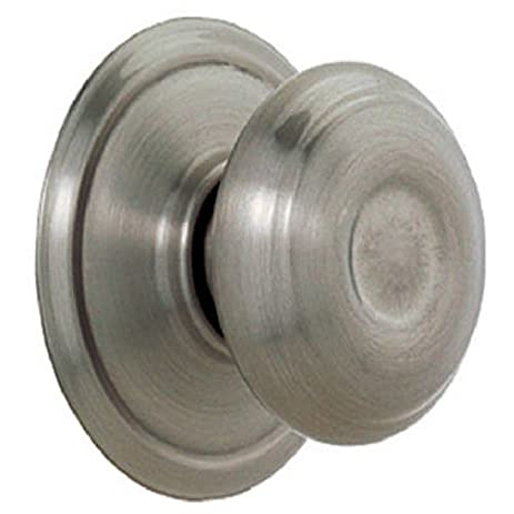 Charmant Georgian Passage Door Knob Finish: Antique Pewter