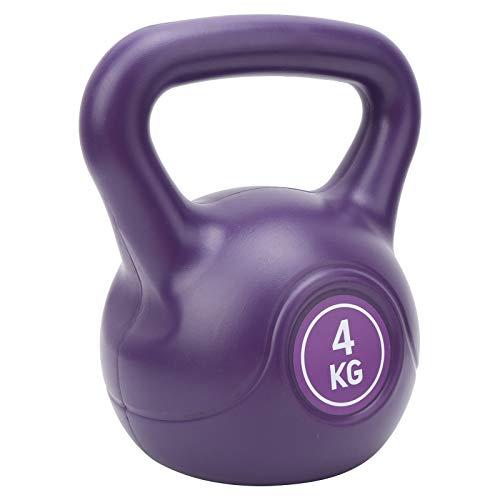 Krachttraining Kettlebell, 4KG Kettlebell Sport Gewichtheffen Halter Grip Krachttraining Fitnessapparatuur