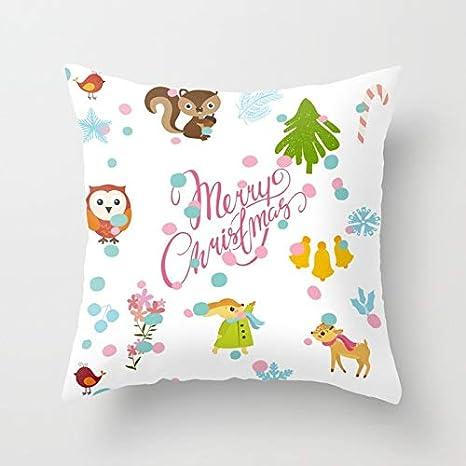 Amazon.com: Wall of Dragon Merry Christmas Cute Deer Snowman ...