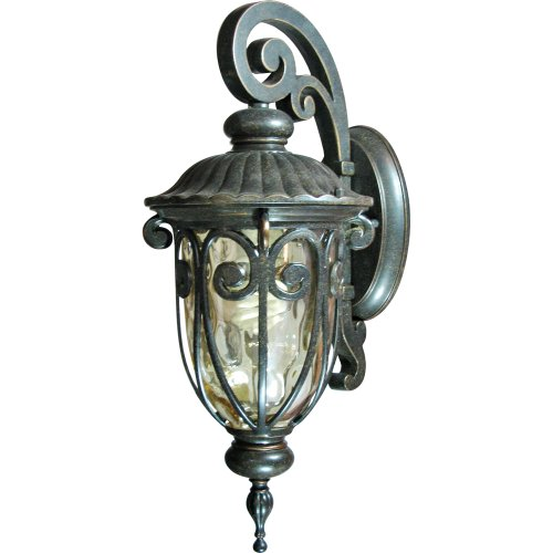 Yosemite Home Decor FL519SDORB Viviana Collection Seven-Inch Fluorescent Hanging 1-Light Wall Sconce/18.25, Oil-Rubbed Bronze 57 Piece