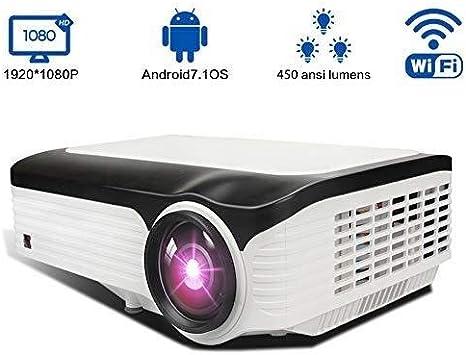 YHLZ Proyectores, 3000 Lux HD Video Proyectores 200 de Cine en ...