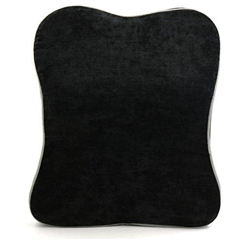 eDealMax Noire en Forme de Mousse mmoire Convex Oreiller Coussin Pour le repos de Soutien automatique de Voiture