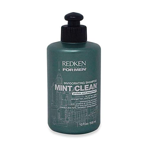 Redken for Men Mint Clean Invigorating Shampoo 10.1 OZ