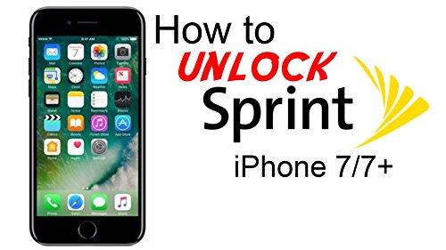 Sprint USA iPhone Unlock Service 4S 5 5S 5C 6 6 + 6S 6S+ 7 7 plus 7+ Models - Supports Clean / Blocked / Blacklisted / Unpaid 100% Unlock Premium Unlock Service