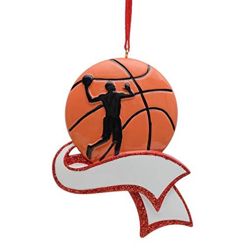 Basketball Christmas Holiday Ornament - 8
