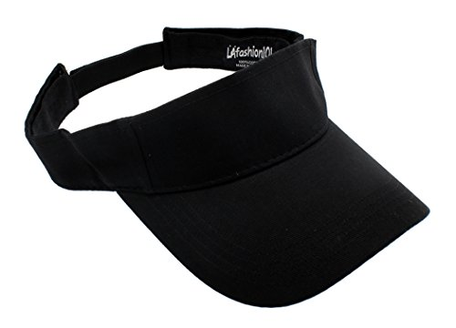 Dreaming About Softball - LAfashion101 Sun Sports Visor Hat Cap - Classic Cotton for Men Women, BLK