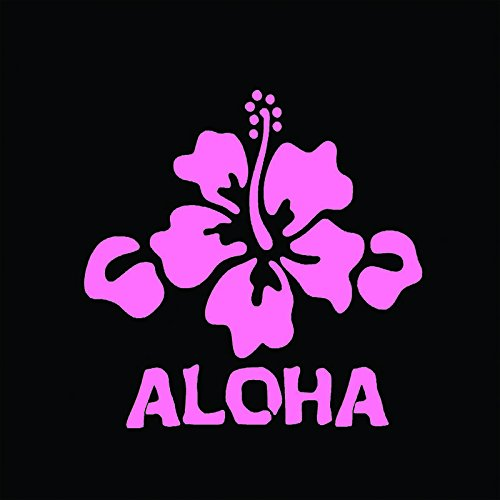Aloha Hibiscus Flower Vinyl Decal Sticker   Cars Trucks Vans