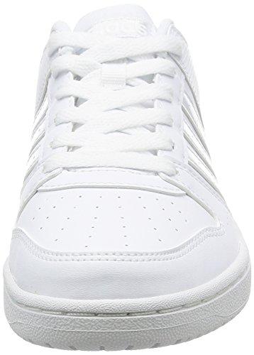 FTWBLA FTWBLA Mujer adidas 2 HOOPSTER VS 3 W para FTWBLA Zapatillas deportivas 38 Blanco BvpHA