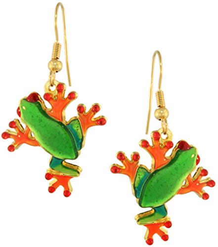 Tree Frog Ring - Lunch at The Ritz 2GO USA Froggy Earrings - Tree Frog