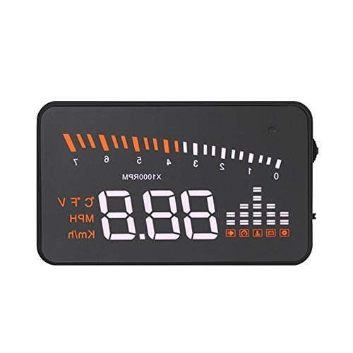 KKmoon Universal Car HUD Head Up Display KM/h & MPH Speeding Warning Windshield Project System