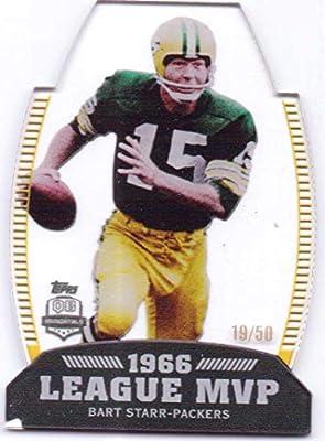 959be8a0 Bart Starr 2012 Topps NFL MVPs #LMVP-BS - 19/50 - Green Bay Packers ...