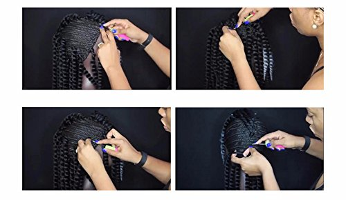 [Hair Extension Needle Tool and Medium Size Cornrows Wig Cap For Making Wigs With Adjustable Strap For African Crochet Braiding] (Cornrow Wigs)