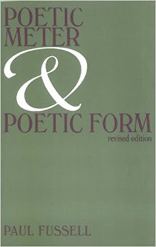 Poetic Meter and Poetic Form (Turco Forms)