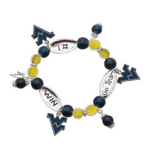 Virginia Mountaineers Sport Wishing Bracelet