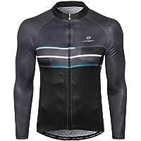 LAMEDA Cycling Jersey Men, Long Sleeve Shirt Bike...