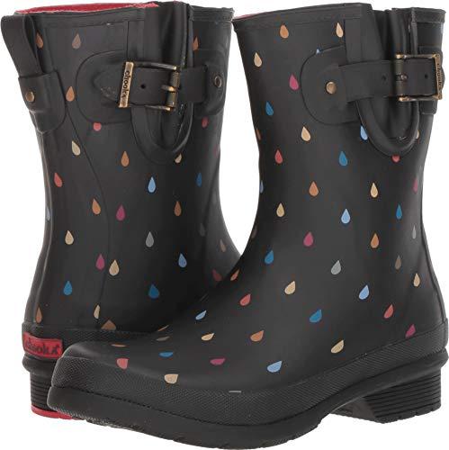 Chooka Women's Rain Dot Rain Boot Multi 8 M US M ()