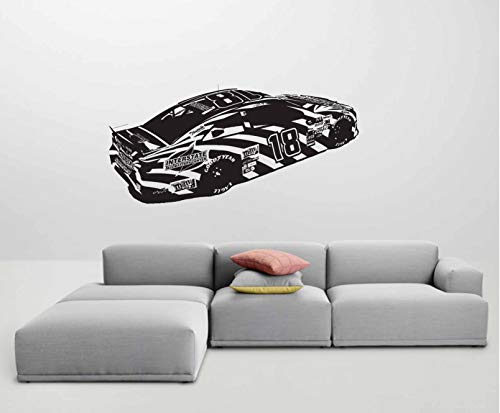 NASCAR 18 Kyle Busch Wall Art Sticker Decal ()