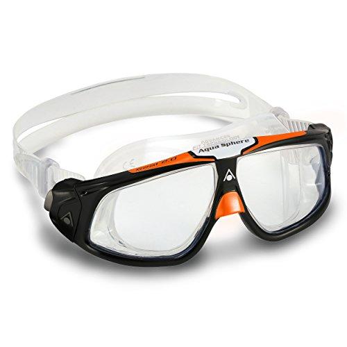 Aqua Sphere Masque Seal Lentille claire / noire / orange