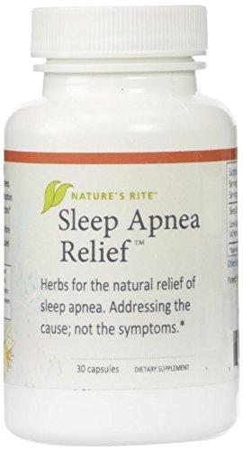 Sleep Apnea Relief Natures Rite 30 Caps (2 Pack) ()