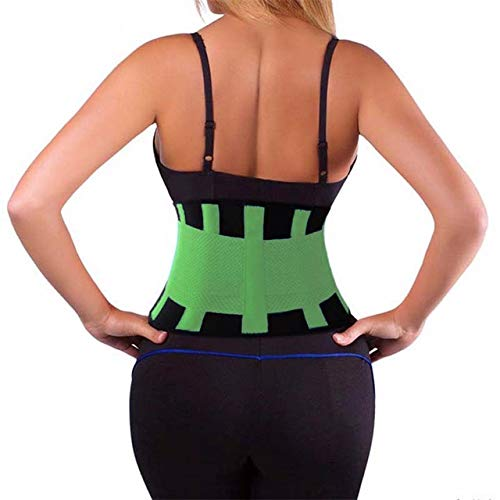 55e521e828 BuyChoice™Waist Trainer Corset Plus Size Shapewear Body Shaper Slimming Belt -Green-S  Amazon.in  Clothing   Accessories