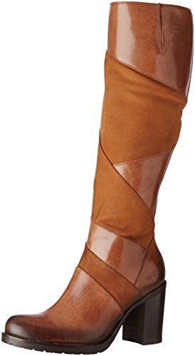 Donna Piu 9997 Gabriella - Botas clásicas hasta la rodilla Mujer Marron (Tequila Brandy/Nabuk Cuoio)