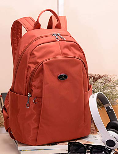 278605 Daypack Waterproof School Bag Fouvor Red Travel Backpack Nylon Fashion UnqAw8aOF