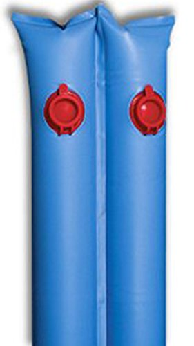 Buffalo Blizzard Blue 10-Foot Long Double Chamber Water Bag | 12 Pack | 22-Gauge Vinyl Material ()