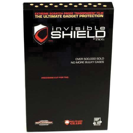 ShieldZone invisibleSHIELD, Back Body Invisible Protection for the Sony PlayStation Portable System, PSP, Hand Held Gaming Console - Psp Slim Invisibleshield
