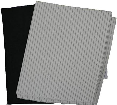Paquete de 3 filtros de grasa de carbono para campana extractora de cocina: Amazon.es: Grandes electrodomésticos