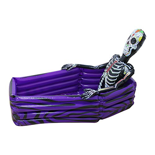 Wecloth Inflatable Suit Skull Pool Halloween Decoration Props Water Ice Bucket