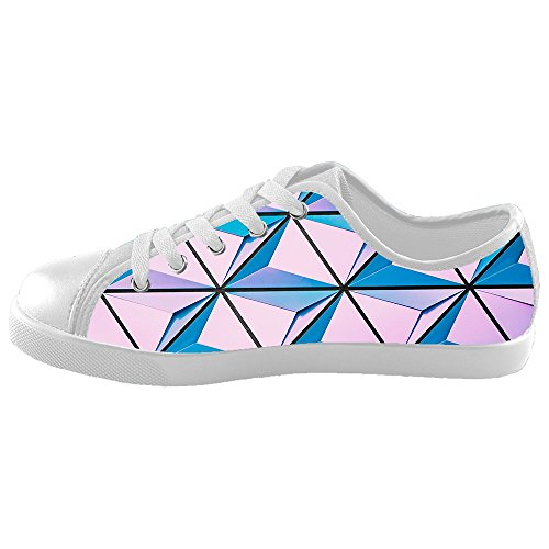Daniel Turnai Fan Custom Kid's Shoes Shape Pattern New Sneaker Canvas