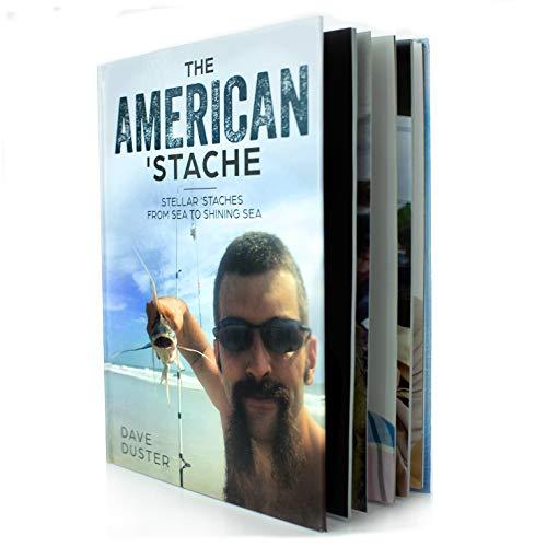 기어 미국 콧수염-하드 커버 커피 테이블 책-재미 콧수염 컬렉션-아메리카나
