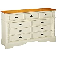 Coaster Home Furnishings Country Dresser, Oak and Buttermilk