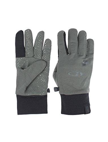 Icebreaker Merino Sierra Gloves, Cargo/Black, X-Large ()
