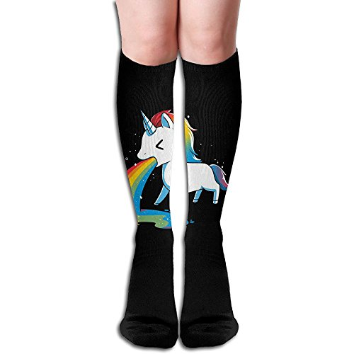 NOLIN AZU Where Rainbows Come From Soft Stockings Sport Sock Athletic Running Socks For Running,Medical,Athletic,UNISEX,19.7 Inch