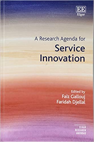A Research Agenda for Service Innovation Elgar Research ...