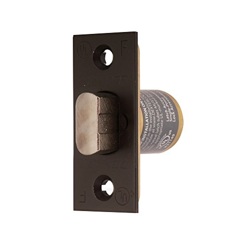 Square Privacy Spring Latch - Dexter Commercial Hardware C2000-SL-613 Grade2 Passage, Privacy  Spring Latch,  Oil Rubbed Dark Bronze