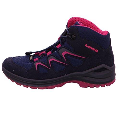 LowaINNOX EVO GTX JUNIOR - Walking boots - navy/beere XwniUOP7