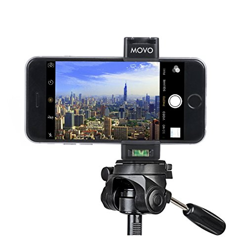 Movo Smartphone Shotgun Microphone, Video Grip Rig, & LED Light Bundle for iPhone X, 8, 7, 7 Plus, 6S, 6, 5, 5S, Samsung Galaxy / Note, & Android Phones by Movo (Image #5)