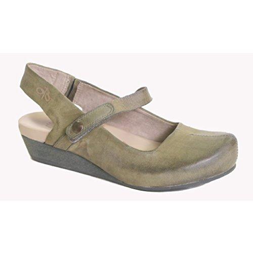 [Otbt Womens Springfield Sandal, New Mint - 8.5M] (New Mint)