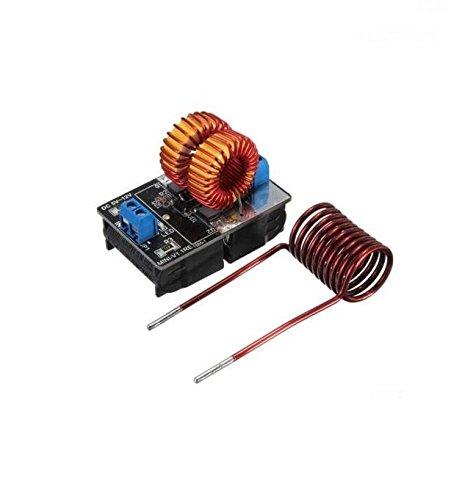 Exiron 1PCS 5~12v ZVS Induction Heating Power Supply Module Tesla Jacob's Ladder + Coil