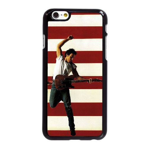 Bruce Springsteen Born In The Usa Q9N23B5NP coque iPhone 6 6S Plus 5.5 Inch case coque black 642D3O