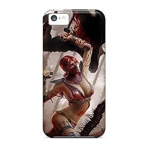 Hot Style DGqhc16086KsFwe Protective Case Cover For Iphone5c(mortal Kombat)