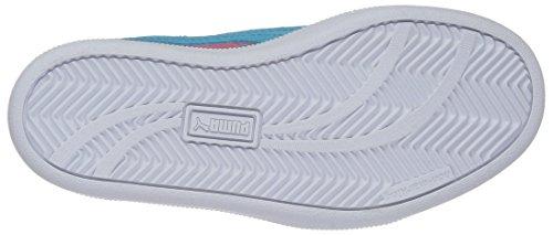 Puma Smash Fun Buck Marmer Kids Sneaker Fandango Roze / Blauwe Atol