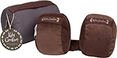 Travel in Total Comfort with the Unique Patented Designed Travelling Pillow! You dont have to tell us about how exhausted you feel when you take a trip across the country or fly internationally. If you cant find a comfortable position for you...